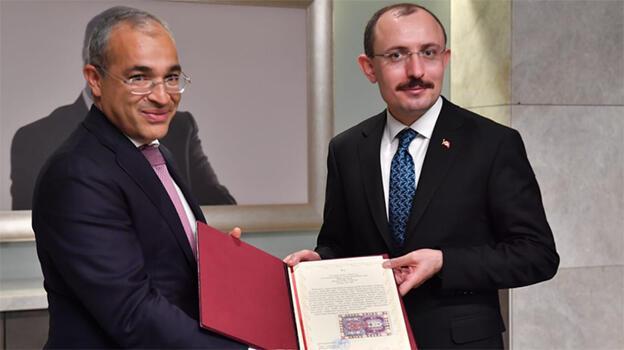 Azerbaycan ile kritik görüşme! 'Ticaret hacmi hedefimizi aşacağımıza inancımız tam'