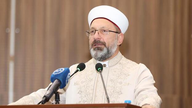 Diyanet İşleri Başkanı Erbaş: Toplumu din konusunda aydınlatmak görevimiz