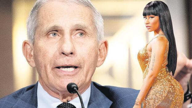 Nicki Minaj'a Fauci'den yanıt: Kovid aşıları  kısırlık yapmaz