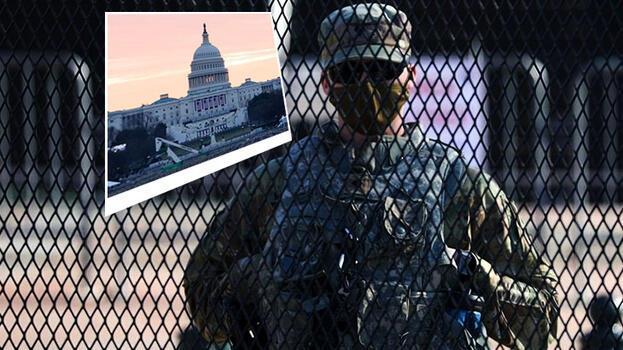 Washington'daki gösteri için Ulusal Muhafız talebinde bulunuldu