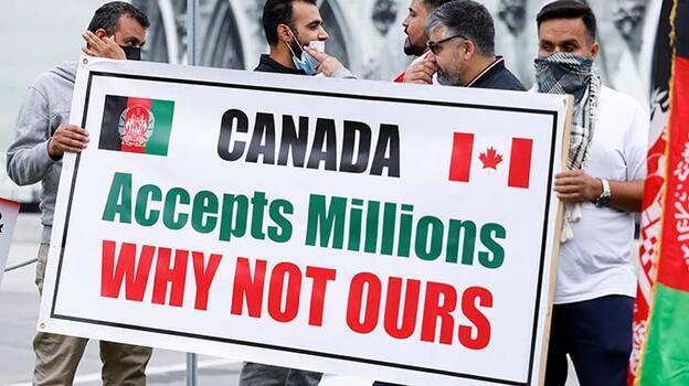 Kanada'da Afgan tercümanlar açlık grevinde