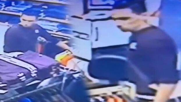Müşteri gibi girdiği mağazadan cep telefonu çaldı!
