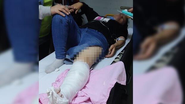 Husumetlilerine ateş açıp yoldan geçen kadını vurdular