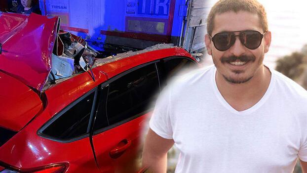 TIR'a çarpan otomobilin sürücüsü Yusuf öldü
