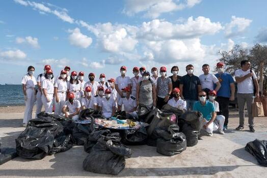 Mersin'de çevre temizliği