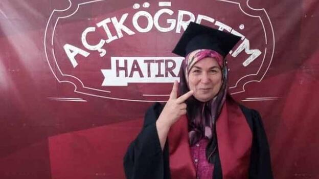 Açıköğretim'i bitirdi, 59 yaşında yüksek lisans öğrencisi oldu!
