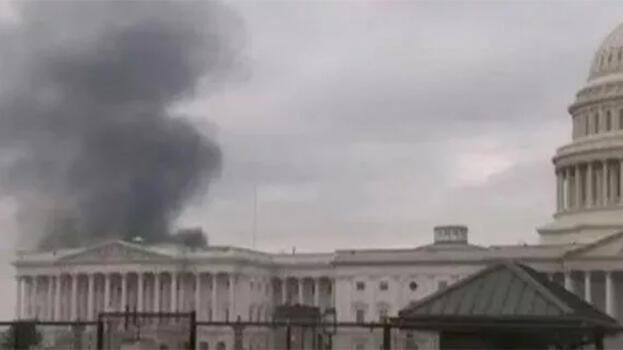 Son dakika: Washington'da korkutan yangın!