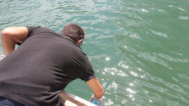 Eğirdir Gölü'nden alınan numune sonuçları temiz çıktı