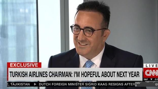 CNN International, Türk Hava Yolları'nın başarısını M. İlker Aycı'ya sordu