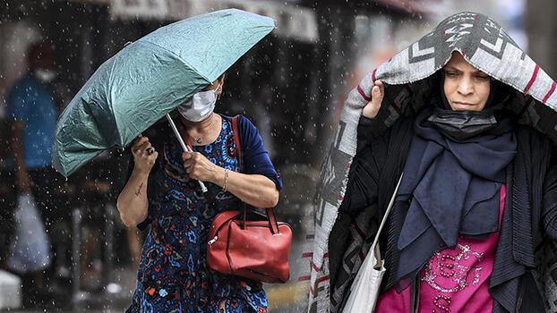 Son dakika... Meteoroloji yarın için uyardı! İstanbul dahil birçok kentte yağış
