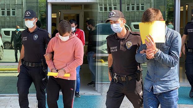 Samsun'da 1'i bekçi 3 şüpheli uyuşturucudan tutuklandı