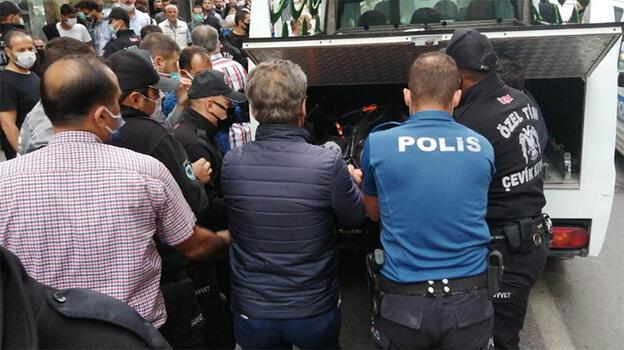 Apartmanı ayağa kaldıran ölüm! Polis linç girişimini engelledi