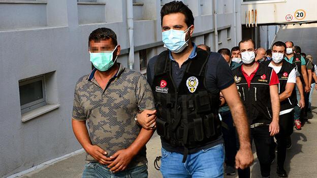Adana'da uyuşturucu operasyonunda 9 tutuklama