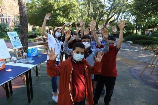 Öğrenciler dünya mikroorganizma gününü kutladı