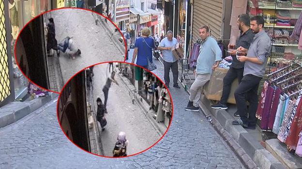 İstanbul'da şoke eden anlar! Montajını yaptığı klimayla düştü