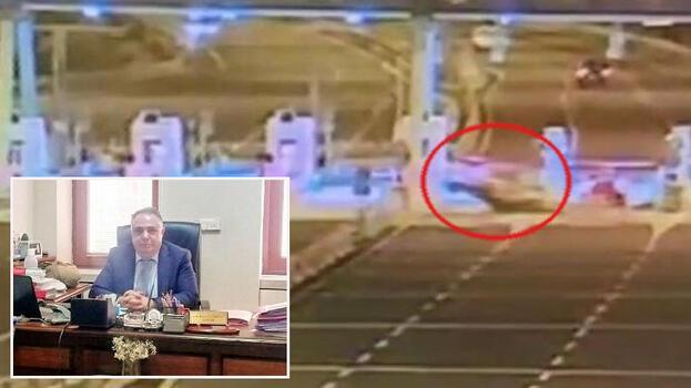 İzmir'de hakimin hayatını kaybettiği feci kaza kamerada