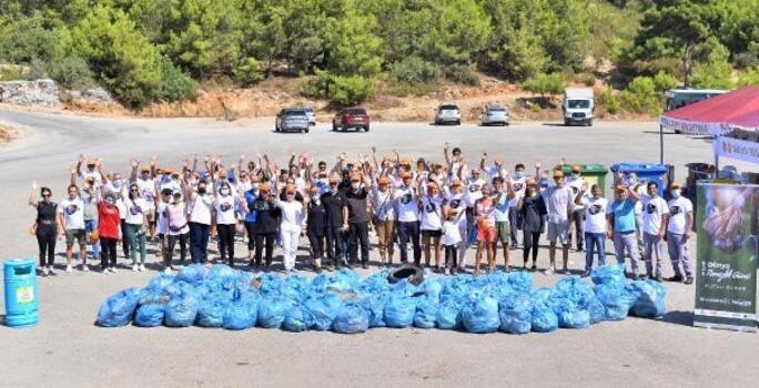 Alanya'da Dünya Temizlik Günü etkinliği
