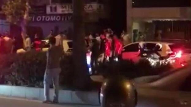'Dur' ihtarı yapan polise ateş açan 5 şüpheli yakalandı