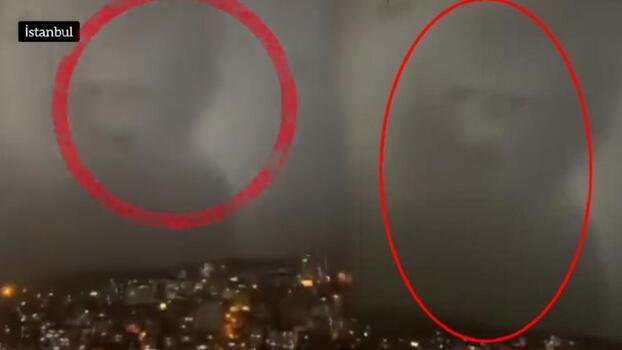 Son dakika...  İstanbul'da yağmur sonrası gökyüzünde şaşırtan silüet! Herkes bu olayı konuşuyor