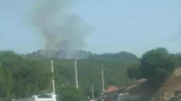 Son dakika... İzmir'de orman yangını! Müdahale ediliyor