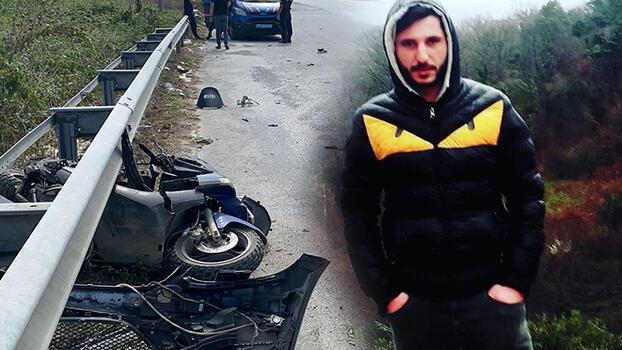 Yasağa rağmen 'U' dönüşü yapan motosikletli kazada öldü