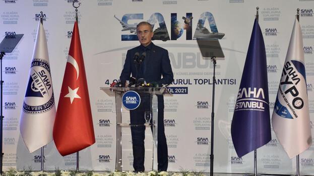 Savunma Sanayii Başkanı Demir, SAHA İstanbul Genel Kurulu'nda konuştu