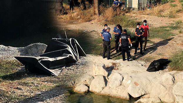 Adana'da, Seyhan Nehri'nde erkek cesedi bulundu