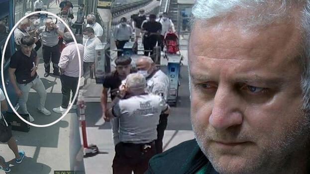 Metrobüste kör eden maske kavgası! Dehşet kamerada