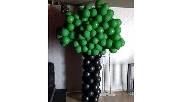 Balon ağacı yapalım