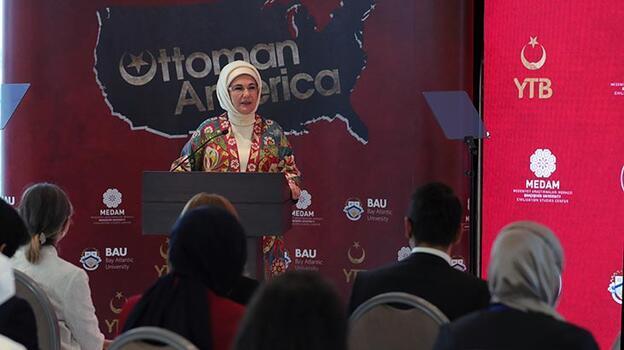 Emine Erdoğan, Osmanlı'nın Amerikası Belgeseli tanıtımına katıldı