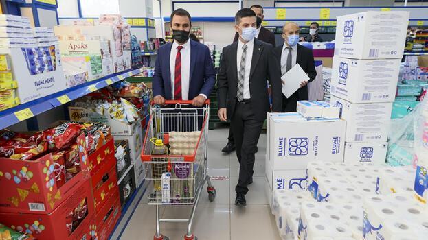 Ticaret Bakanlığı'nın marketlere fahiş fiyat denetimi hız kesmiyor