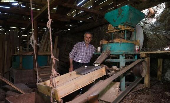 Un değirmeni 150 yıldır suyla çalışıyor