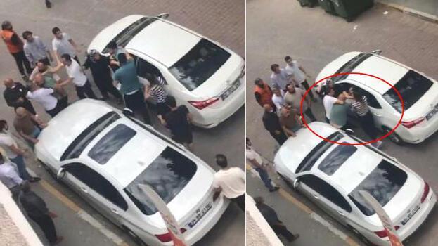 Avcılar'da yol kavgası! 2 kadın bir adamı dövdü
