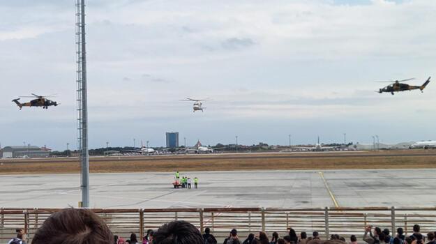 TEKNOFEST'te tarihi gün! Halka açık ilk uçuş