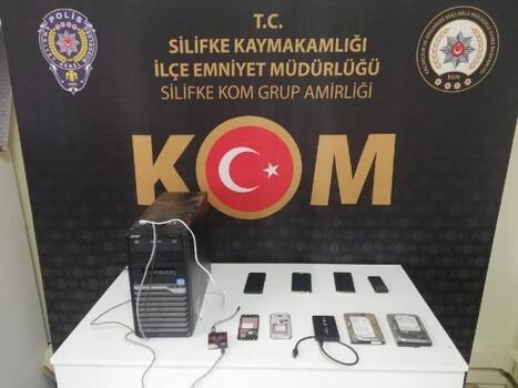 Silifke'de klonlanmış gümrük kaçağı cep telefonu ele geçirildi