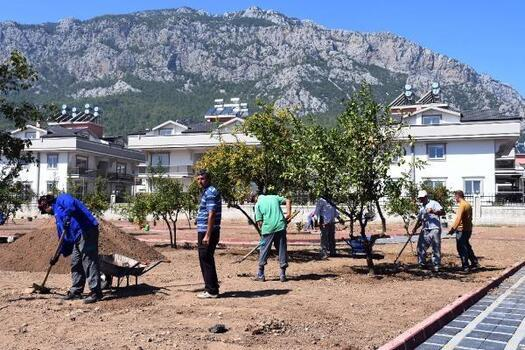 Kuzdere'ye ilk park
