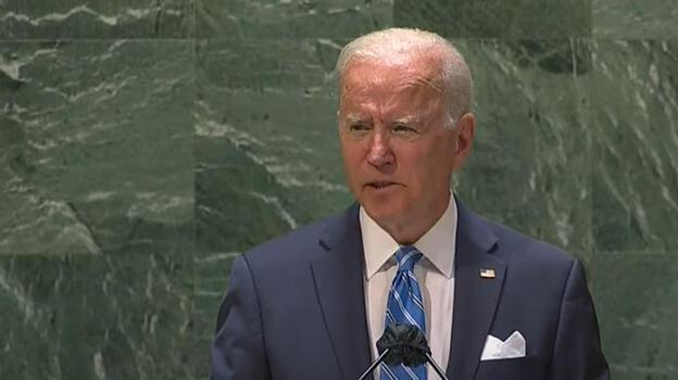 Son dakika: Biden BM Genel Kurulu'nda konuşuyor!