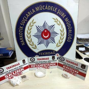 Tekirdağ'da uyuşturucu operasyonunda 1 tutuklama