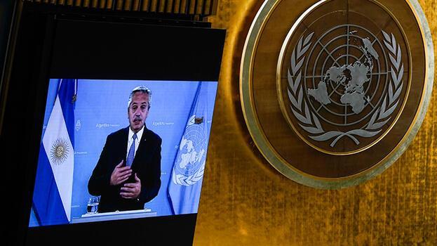 Arjantin Devlet Başkanı'ndan BM'de aşı çağrısı
