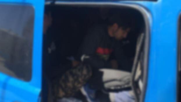 Kilis'te 4 kaçak göçmen yakalandı!