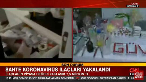 Son dakika! İstanbul'da sahte koronavirüs ilaçları ele geçirildi