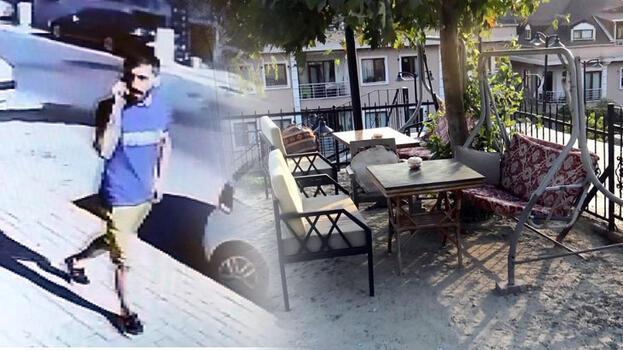 Uyuyan kişinin cep telefonunu çalan hırsızı dövmesi yakalattı
