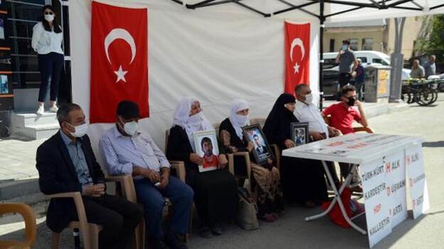 Muş'ta HDP önünde eylem yapan aile sayısı 10'a yükseldi