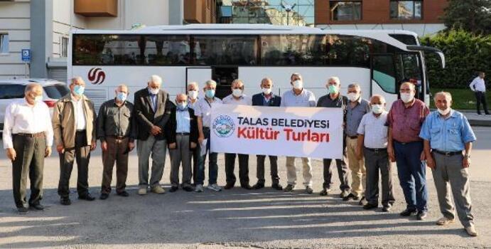Talas Belediyesinden gazilere Çanakkale gezisi