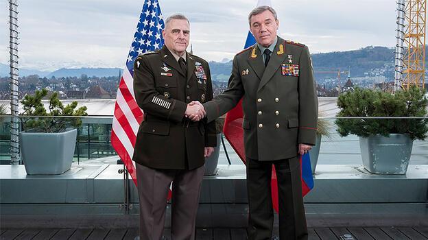 ABD ve Rus genelkurmay başkanları buluştu
