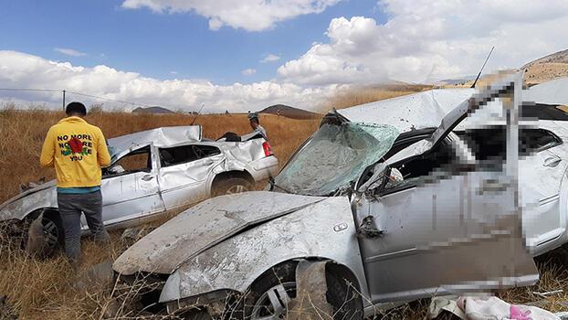 Adana'da feci kaza! Sürücüsü öldü, kızı ve annesi yaralandı