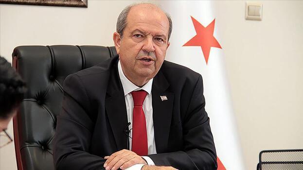KKTC Cumhurbaşkanı Tatar'dan Başpiskopos Elpidoforos'a destek