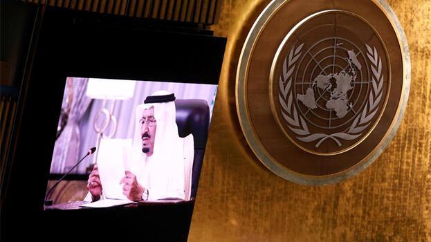 Suudi Arabistan Kralı Selman'dan BM'de İran'a flaş mesaj