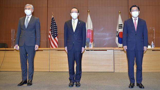 Üç ülkeden 'Kuzey Kore' mesajı