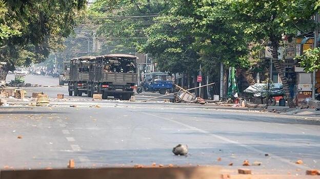 Myanmar'daki darbenin ardından 1100'den fazla kişi hayatını kaybetti